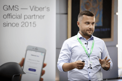 Artem Doroshenko | GMS & Viber joint multichannel marketing event
