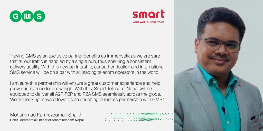 Mohammad Kamruzzaman Shaikh - Chief Commercial Officer, Smart Telecom Nepal