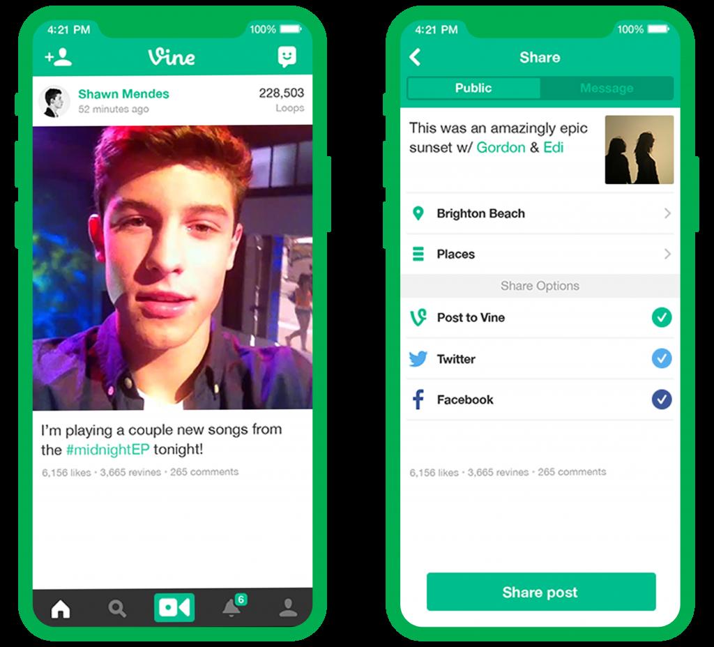 vine videos screenshot