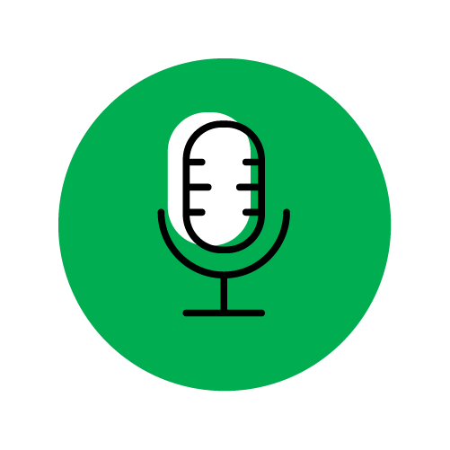 icon voice message
